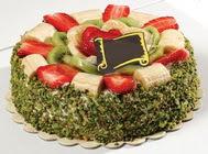 pasta gönder  4 ile 6 kisilik karisik meyvali yas pasta  Mardin internetten çiçek siparişi