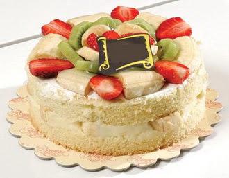 pasta siparisi 4 ile 6 kisilik karisik meyvali yas pasta  Mardin çiçek servisi , çiçekçi adresleri