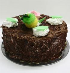 4 ile 6 kisilik yas pasta çikolatali leziz pastane ürünü  Mardin cicekciler , cicek siparisi