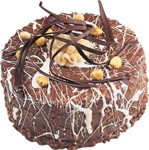 pasta satisi 4 ile 6 kisilik çikolatali yas pasta  Mardin İnternetten çiçek siparişi