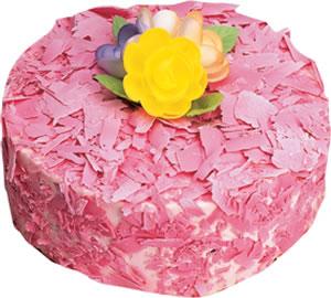 pasta siparisi 4 ile 6 kisilik framboazli yas pasta  Mardin çiçek yolla