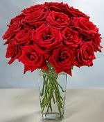 Mardin çiçek siparişi sitesi  Sevdiklerinize özel ürün 12 adet cam içerisinde kirmizi gül  Mardin hediye çiçek yolla