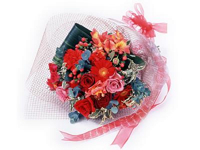 Karisik buket çiçek modeli sevilenlere  Mardin uluslararası çiçek gönderme