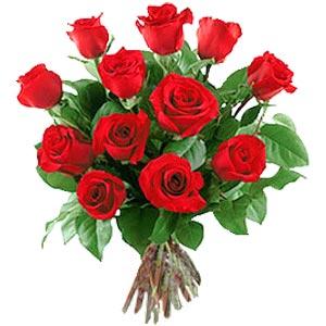 11 adet bakara kirmizi gül buketi  Mardin güvenli kaliteli hızlı çiçek