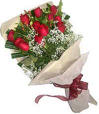 11 adet kirmizi güllerden özel buket  Mardin internetten çiçek siparişi