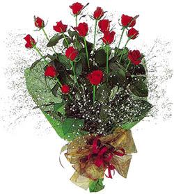 11 adet kirmizi gül buketi özel hediyelik  Mardin çiçekçi mağazası