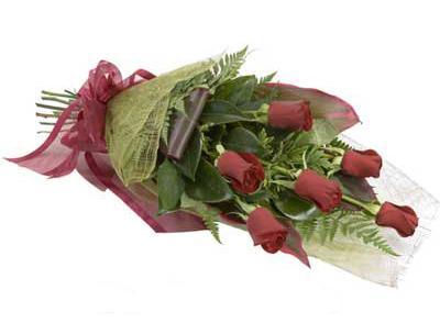 ucuz çiçek siparisi 6 adet kirmizi gül buket  Mardin çiçek siparişi sitesi