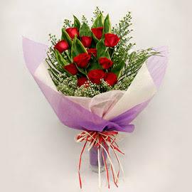 çiçekçi dükkanindan 11 adet gül buket  Mardin çiçekçi mağazası