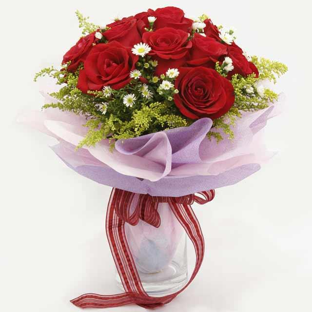 Çiçek gönderme estetikliginiz 11 gül buket  Mardin çiçekçi mağazası