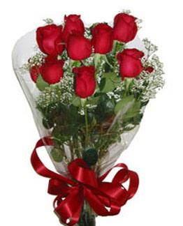 Çiçek sade gül buketi 7 güllü buket  Mardin online çiçek gönderme sipariş