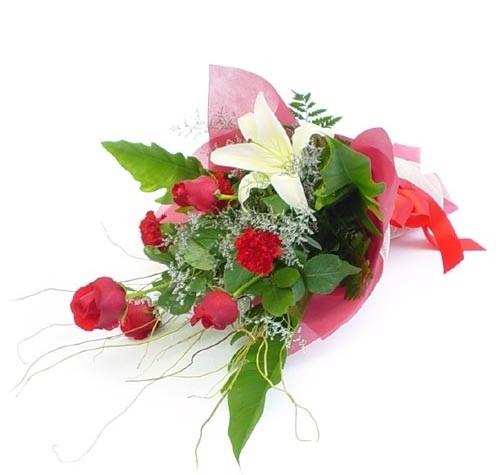 Mevsim çiçeklerinden karisik buket  Mardin cicek , cicekci
