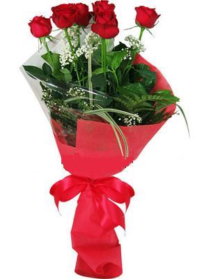 7 adet kirmizi gül buketi  Mardin çiçek yolla , çiçek gönder , çiçekçi