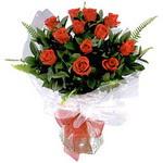 Mardin çiçek , çiçekçi , çiçekçilik  9 adet güzel bir gül buketi