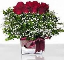 Mardin internetten çiçek satışı  mika yada cam vazo içerisinde 7 adet gül
