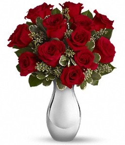 Mardin çiçek siparişi vermek   vazo içerisinde 11 adet kırmızı gül tanzimi
