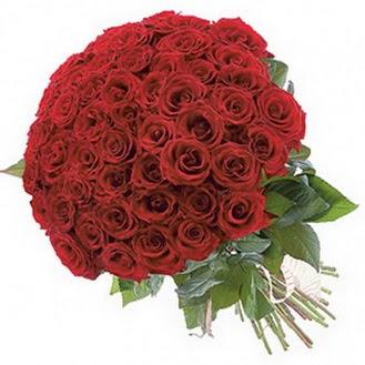 Mardin güvenli kaliteli hızlı çiçek  101 adet kırmızı gül buketi modeli