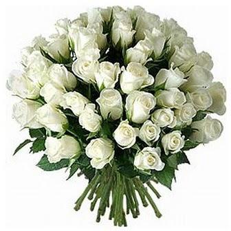 Mardin çiçek servisi , çiçekçi adresleri  33 adet beyaz gül buketi