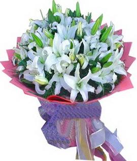 7 dal cazablanca görsel buketi  Mardin çiçekçi mağazası