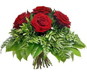 Mardin çiçek mağazası , çiçekçi adresleri  5 adet kırmızı gülden buket