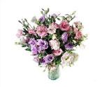 Mardin çiçek yolla , çiçek gönder , çiçekçi   Vazoda karisik kalite lisyantusler