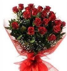 İlginç Hediye 21 Adet kırmızı gül  Mardin internetten çiçek siparişi
