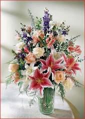 Mardin cicek , cicekci  Kaliteli vazoda mevsim çiçekleri