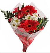 Mevsim çiçeklerinden görsel buket  Mardin çiçekçiler