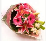 1 dal kazablanka ve mevsim çiçekleri  Mardin internetten çiçek siparişi