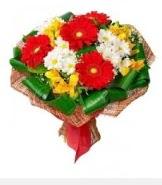 1 demet karışık buket  Mardin hediye sevgilime hediye çiçek