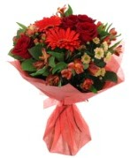 karışık mevsim buketi  Mardin internetten çiçek siparişi