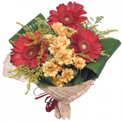 karışık mevsim buketi  Mardin çiçekçi mağazası