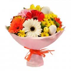 Karışık mevsim buketi Mevsimsel çiçek  Mardin internetten çiçek siparişi