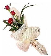 3 adet kırmızı gül buketi  Mardin güvenli kaliteli hızlı çiçek