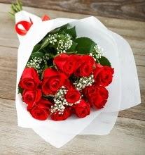 9 kırmızı gülden buket çiçeği  Mardin çiçek gönderme