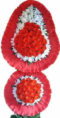 Mardin online çiçek gönderme sipariş  Çift katlı kaliteli düğün açılış sepeti