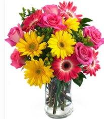 Vazoda Karışık mevsim çiçeği  Mardin çiçekçi mağazası