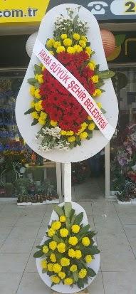 Çift katlı düğün nikah açılış çiçek modeli  Mardin çiçekçi mağazası