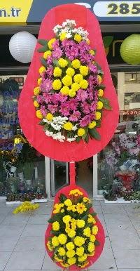 Çift katlı düğün nikah açılış çiçek modeli  Mardin online çiçek gönderme sipariş