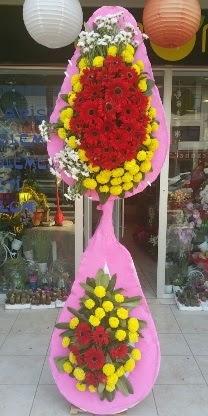 Çift katlı düğün nikah açılış çiçek modeli  Mardin çiçekçiler