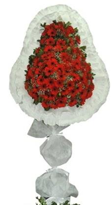 Tek katlı düğün nikah açılış çiçek modeli  Mardin cicekciler , cicek siparisi