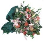 Mardin internetten çiçek satışı  Lilyumlardan harika bir buket