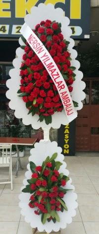 Çift katlı düğün nikah çiçeği modeli  Mardin hediye çiçek yolla