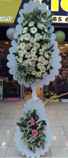 Çift katlı düğün nikah açılış çiçeği  Mardin çiçekçi telefonları