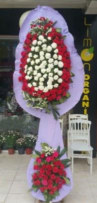 Çift katlı işyeri açılış çiçek modeli  Mardin ucuz çiçek gönder