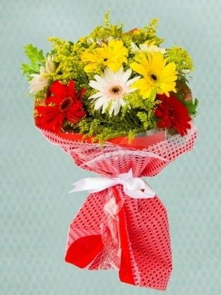 Karışık Gelbera Buketi  Mardin çiçek siparişi sitesi