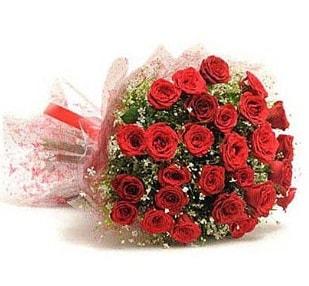 27 Adet kırmızı gül buketi  Mardin ucuz çiçek gönder
