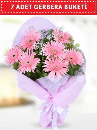 Pembe Gerbera Buketi  Mardin çiçek , çiçekçi , çiçekçilik
