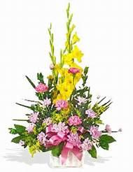 Mardin çiçek servisi , çiçekçi adresleri  sepet içinde Glayor karanfil özel tanzim